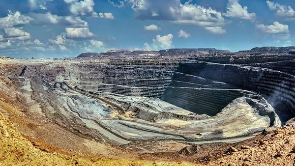 Jwaneng Diamond mine - Botswana