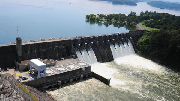Cherokee & Douglas dams